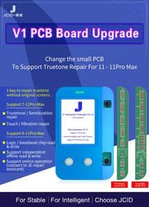 Image 2 - JC V1s v1 For iphone 7 11ProMax Photosensitive Original Color Touch Shock Baseband Logic Almighty Battery Fingerprint Programmer