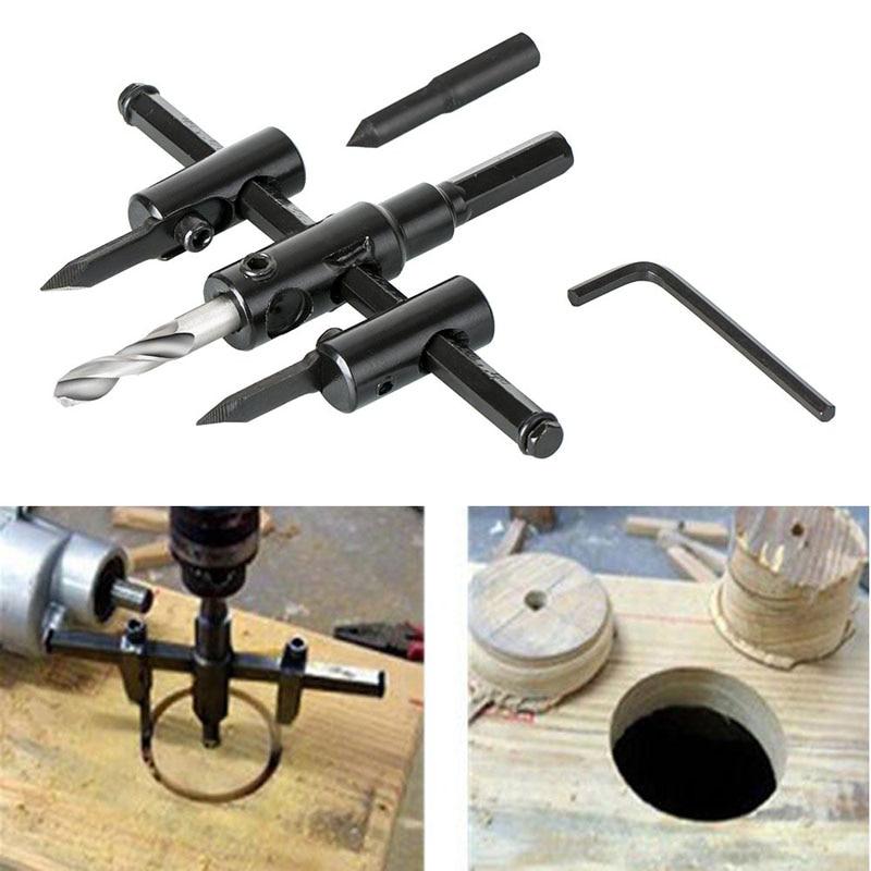 Регулируемый металлический резец для резьбы по дереву, кольцевая пила, набор инструментов для самостоятельного изготовления 30 мм 120 мм, лезвие из черного сплава 30 мм 200 мм 30 мм 300 мм|Сверла| | АлиЭкспресс