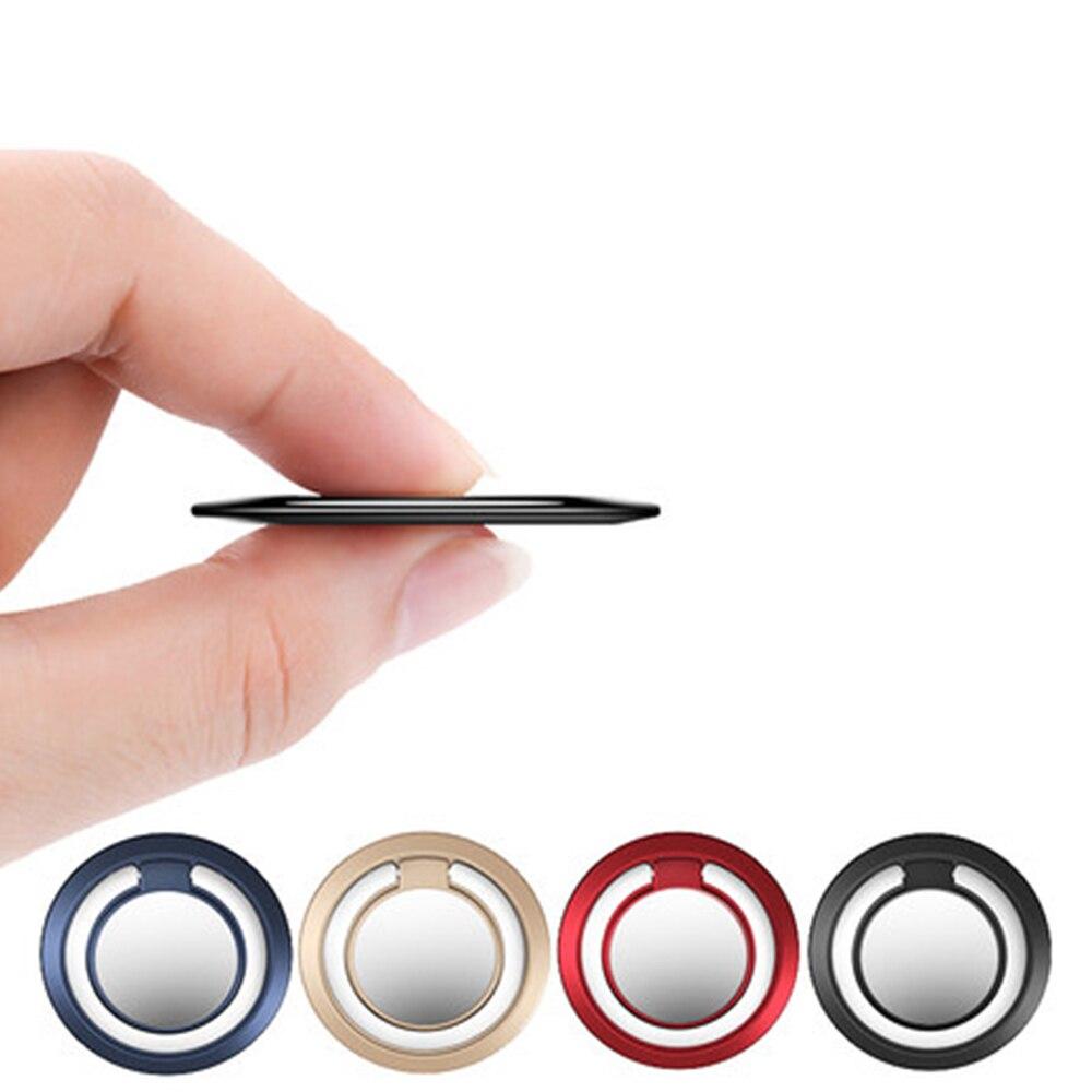 Support de téléphone poignée Base magnétique voiture universelle 360 anneau de doigt pour Xiaomi Samsung Iphone 11 support en métal Auto Soporte support de téléphone