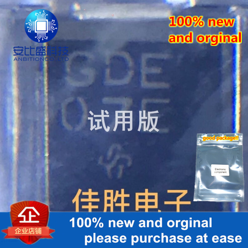 20pcs 100% New And Orginal SMCJ5.0A  5V Transient Tube DO214AB Silk-screen GDE