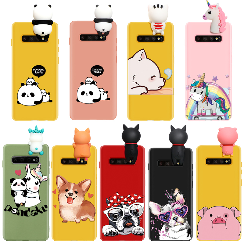 Cartoon Doll Fashion Case For Samsung Galaxy A51 A71 A21 A81 A50 A40 A70 Coque A9 A7 A5 A8 A6 Plus 2018 2017 M30 M40 Case Girls