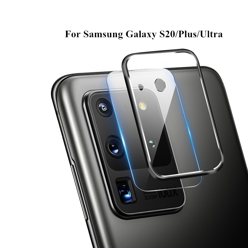 2020 Metal Protective Ring For Samsung Galaxy S20 S20 PLUS Camera Tempered Glass Screen Protector Samsung S20 Ultra