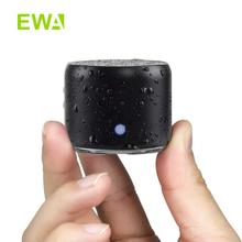 EWA głośnik Bluetooth IP67 wodoodporne Mini bezprzewodowe przenośne głośniki A106Pro kolumna z obudową Bass Radiator na zewnątrz domu tanie tanio Baterii Rohs Metal Pełny Zakres CN (pochodzenie) 25 W NONE Flac Inne Brak 60 hz-23 khz Silver Back MINI Waterproof portable Wireless Bluetooth Speaker Box