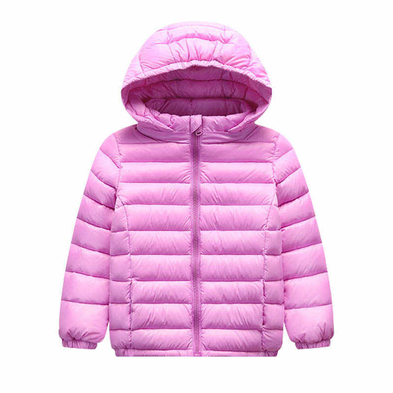 겨울 새로운 남성과 어린이 다운 재킷 오리 따뜻한 울트라 라이트 어린이 베이비 코트 옷