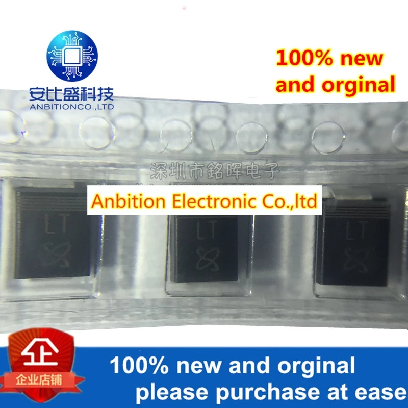 20pcs 100% New And Orgianl SMBJ18A Silk-screen LT SMB DO-214AA 18V 600W In Stock