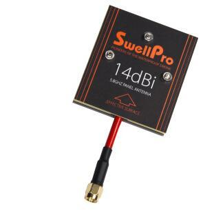 SwellPro Sailor 3 impermeable RC UAV control remoto señal mejorada 5.8G14dBi antena plana