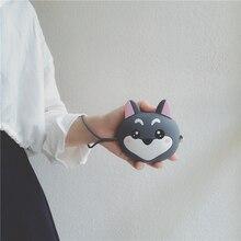Drop Shipping New Girls Mini Silicone Coin Purse Shiba Inu Small Change Wallet Purse Women Key Wallet Coin Bag For Children Kids