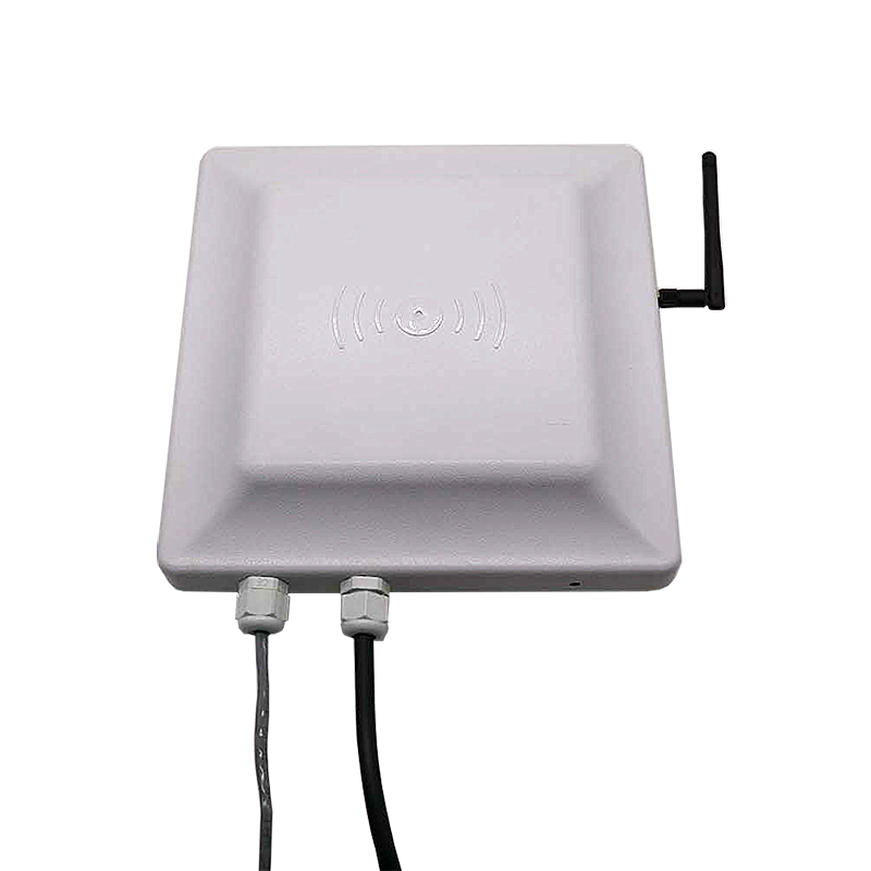 Wireless Wifi Communication UHF  EPC Tag Reader 7dbi Antenna RFID UHF Card&Tag Reader Integrated Reader