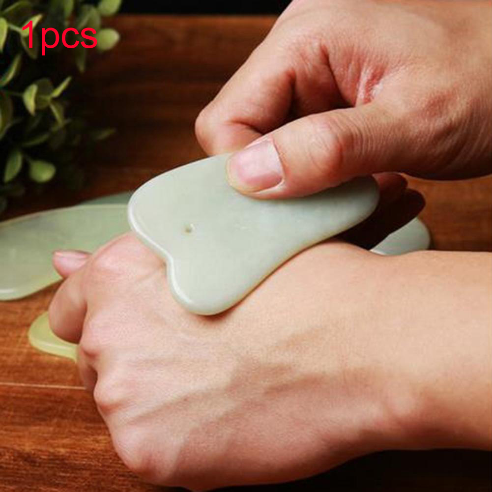 Gua Sha Jade Scraping Tool Care Massagers Health Jade Board Skin Tool Safe