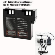 Adaptateur de chargeur de batterie Intelligent Hub 4 en 1, pour Drone DJI Phantom 3 professionnel/3 avancé/3 S / 3 SE