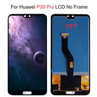 6.1 TFT LCD For Huawei P20 Pro lcd Display Touch Screen Digitizer Assembly P20 Pro lcd With Frame For Huawei P20 Pro Screen