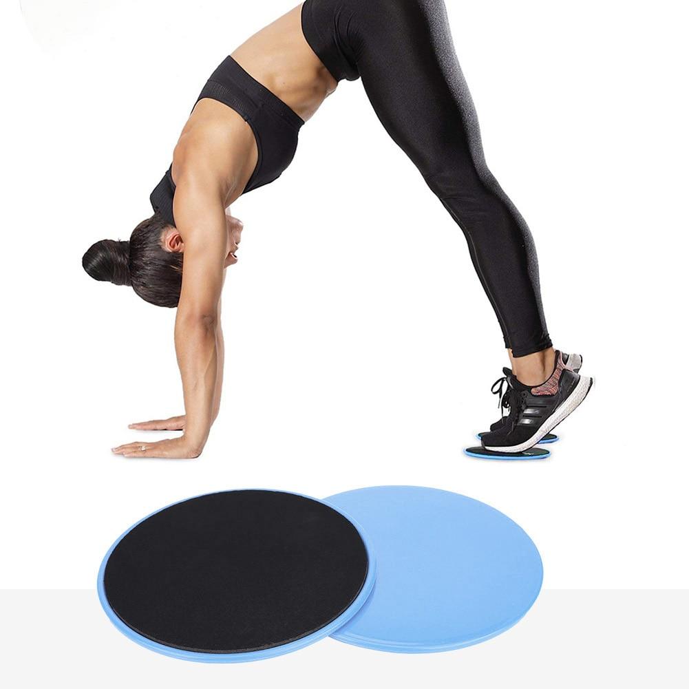 2pcs Gliding Discs Slider Fitness Disc Exercise Sliding Plate Abdominal Core Muscle Training Yoga Sliding Disc Fitness Equipment