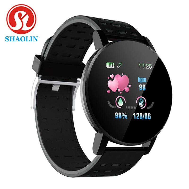 Смарт-часы SHAOLIN с Bluetooth, мужские Смарт-часы с тонометром, женские часы, смарт-браслет, спортивный трекер для Android и IOS
