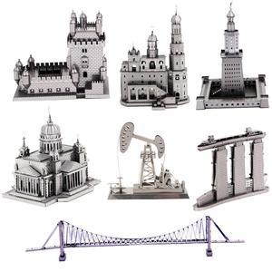 building 3D Metal Puzzle Model