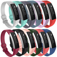 Large Replacement Wrist Band Silicon Strap Clasp For Fitbit Alta HR Watch(China)
