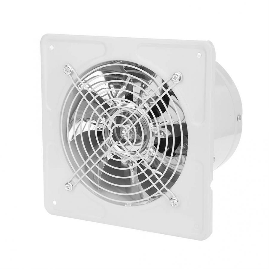 6 inch silent exhaust fan air ventilator bathroom toilet pipe duct fans kitchen wall ventilation extractor fan 220v 40w