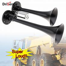 цены 12V 178DB Super Loud Dual Trumpet Electronically Controlled Car Air Horn for Cars / Trucks / Boats / Motorcycles / Vehicles
