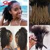 Гладкие афро кудрявые волнистые монгольские 100% человеческие волосы для дредов, вьющиеся косички, человеческие волосы для наращивания, 20/40/60...