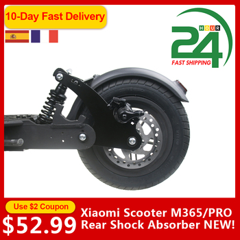 Electric Scooter Rear Shock Absorption Part High-Density Rear Suspension Kit For Xiaomi Mijia M365 Pro Front Suspension Fork Set