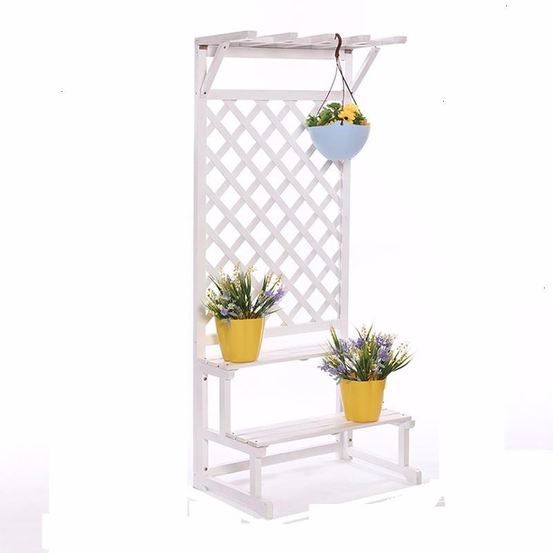 Flores Plantenrekken Indoor Huerto Urbano Madera Varanda For Stojak Na Kwiaty Rack Outdoor Flower Stand Dekoration Plant Shelf