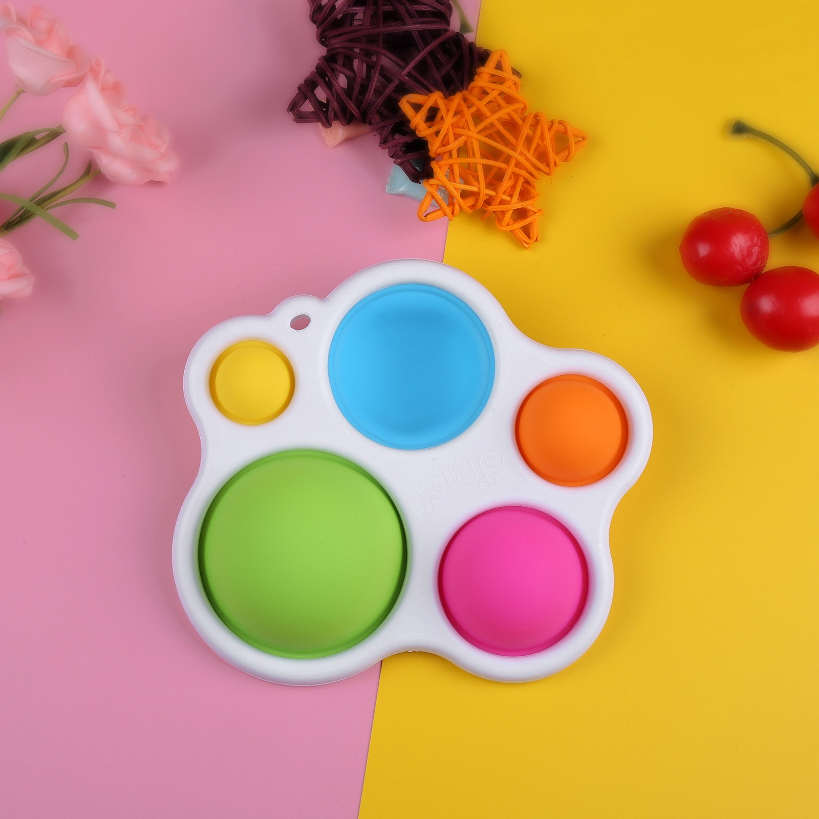 Baby Toys Montessori Push Bubble Infant Puzzle Intelligence-Development Intensive Early-Education img3