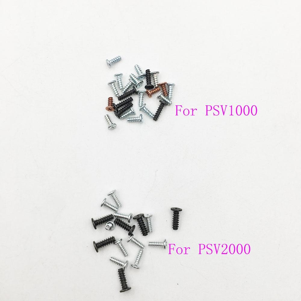 Replacement Screws Set  For PSVita 1000 2000 Game Console For PSV1000 PSV2000 Screw Kit