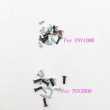 Parafusos de substituição conjunto para psvita 1000 2000 jogo console para psv1000 psv2000 parafuso kit