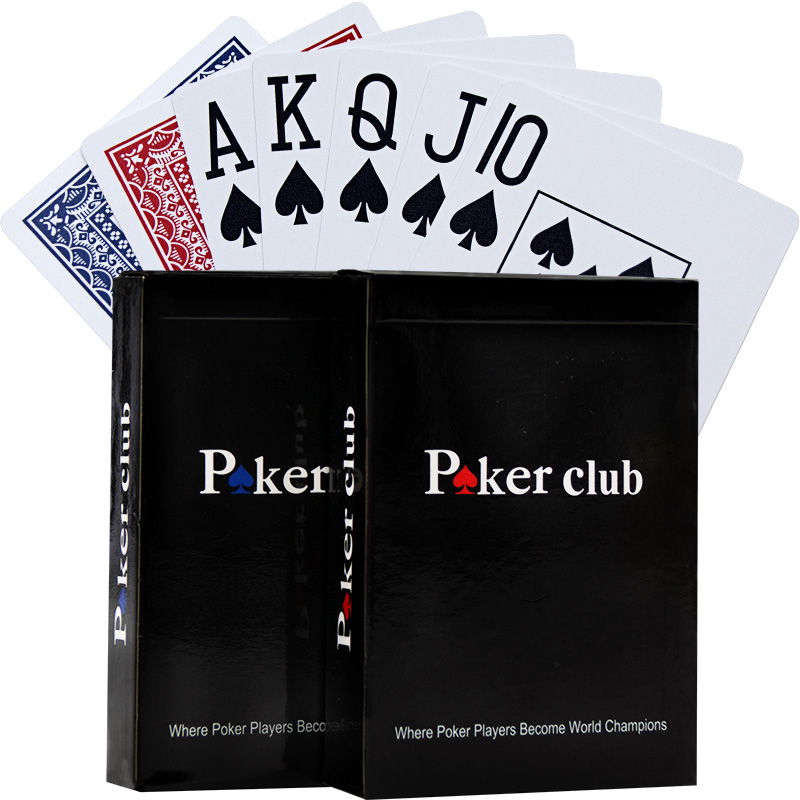 Big Line Texas Hold'em Plastic Playing Card Game Poker Cards Waterproof And Dull Polish Poker Board Games Cards