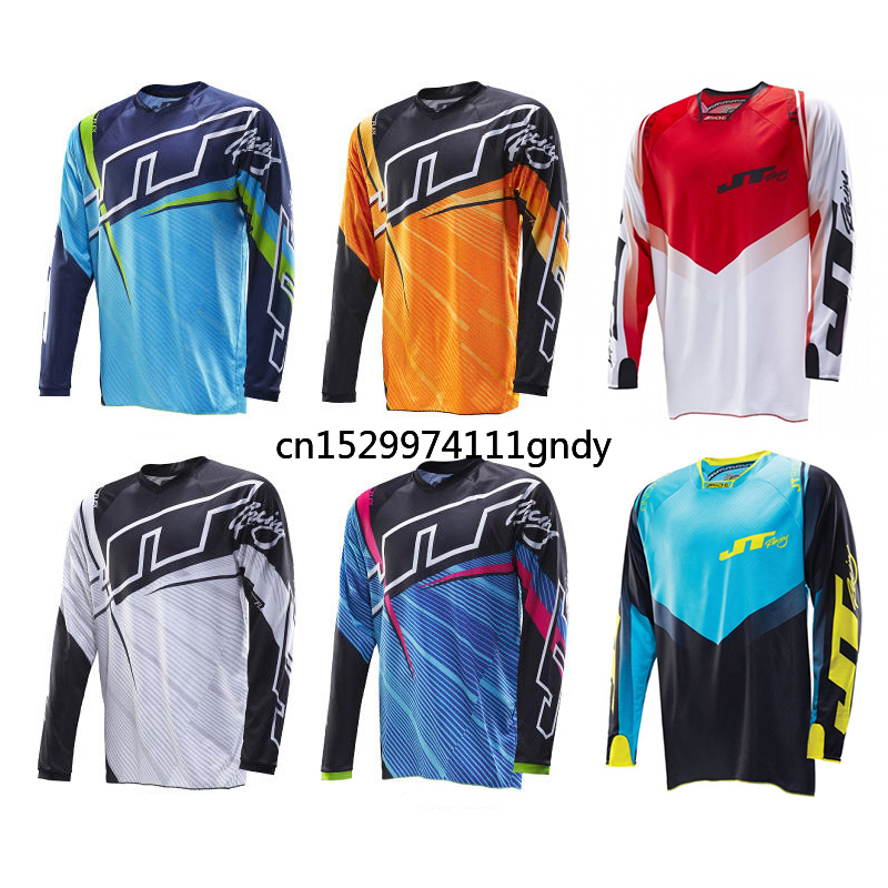 2020 MOTO JERSEY downhill mountain bike downhill t shirt clothing MTB motocross DH shirt MX motorcycle cycling clothing Racing