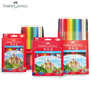 Faber Castell 72 48 36 kredki kolorowe kredki dla początkujących ręcznie malowane kolorowe kredki tanie i dobre opinie Faber-Castell kolorowa 115748 dekoracyjne zawieszki