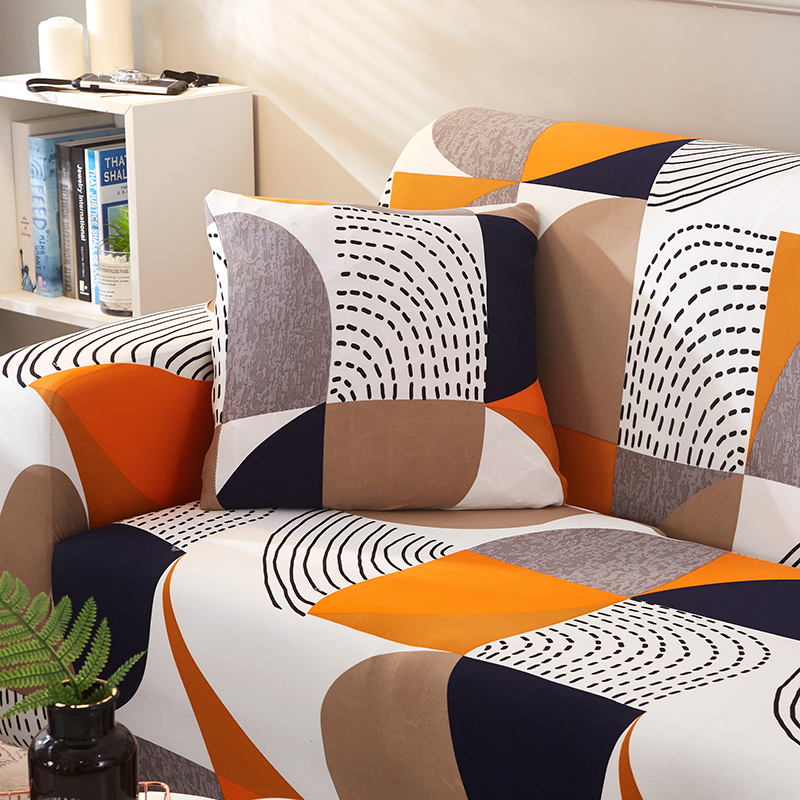 Modern Elastic Sofa Cover Tight Wrap All inclusive Geometric Sofa Slipcovers 1 2 3 4 Seat 4 Season Sofa Towel For Living Room in Sofa Cover from Home Garden