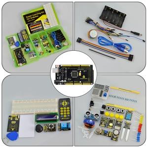 Image 5 - نسخة محدثة Keyestudio سوبر كاتب عدة مع لوحة Mega2560R3 (USB المسلسل رقاقة هو CP2102) لاردوينو كاتب عدة + البرنامج التعليمي
