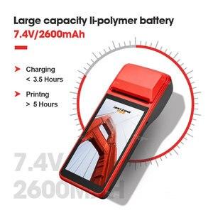 Image 5 - ISSYZONEPOS PDA 안드로이드 7.1 58mm 블루투스 프린터 열 스캐너 4G 와이파이 NFC 모바일 주문 POS 터미널 핸드 헬드 바코드 리더