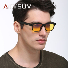 AIMISUV Gaming Computer Glasses Men Anti Blue Light Radiatio