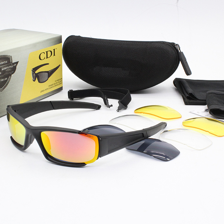 ESS Crossbow CDI Tactical Eye-protection Goggles Bulletproof Glasses Sunglasses Riding Sports Outdoor Shooting