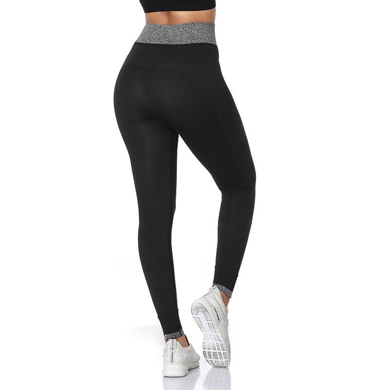 Butt Lift Seamless Yoga Leggings Sculpting Sleep Leg Legging High Waist Skinny Pants Slimming  Leggings Thigh Slimmer Pants