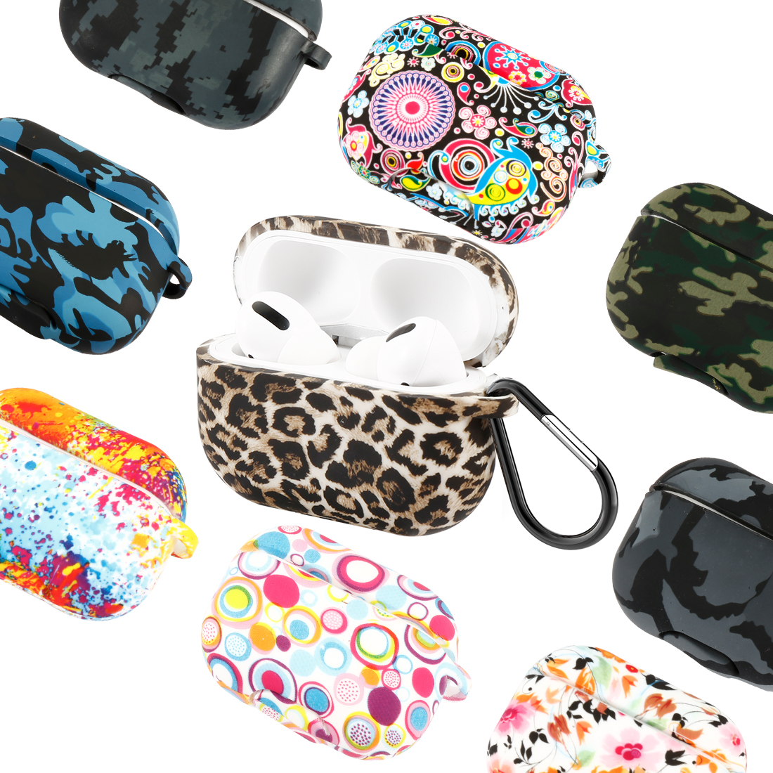 Fundas For Airpods Pro Case 360 Full Protection Cover Silicone