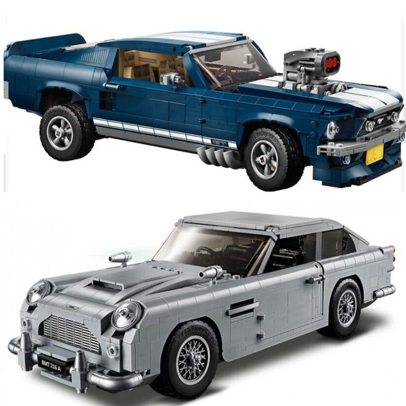 Creator Technic James Bond Aston Martin DB5 Building Blocks Set Bricks 007 Cars Model Children Toys Compatible 10262