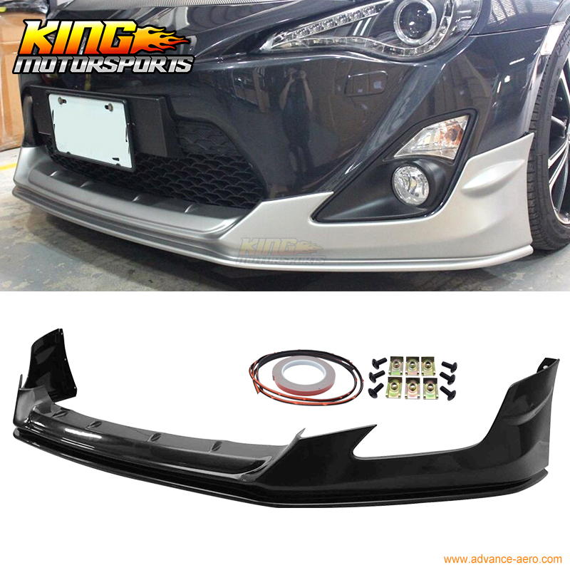 Fit For 2013-2016 Scion FRS FT86 GT86 Aero Front Lip Kit Under Spoiler - ABS