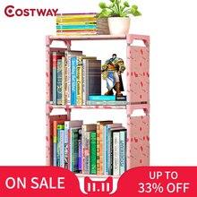 COSTWAY Bücherregal Lagerung Regal für bücher Kinder buch rack Bücherregal für home möbel Boekenkast Librero estanteria kitaplik