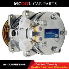Universal Air Conditioner A/C Compressor For Sanden 505 5H09 SD5H09 SD505 AC