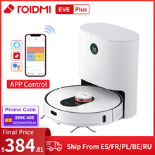 ROIDMI EVE Plus Robot Vacuum Cleaner with Dust Collection Mop air duster Support Mi Home APP Wireless Cyclone filter Smart Home