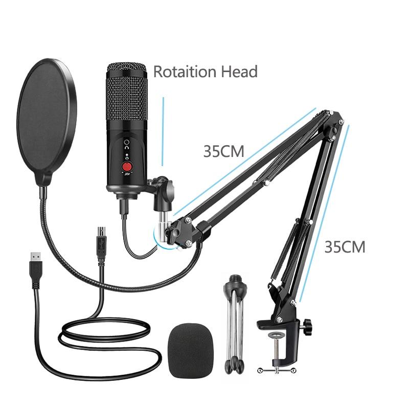 Studio Microphone With Tripod  2