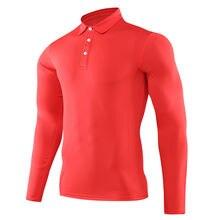 Футболка мужская для гольфа дышащая быстросохнущая рубашка из