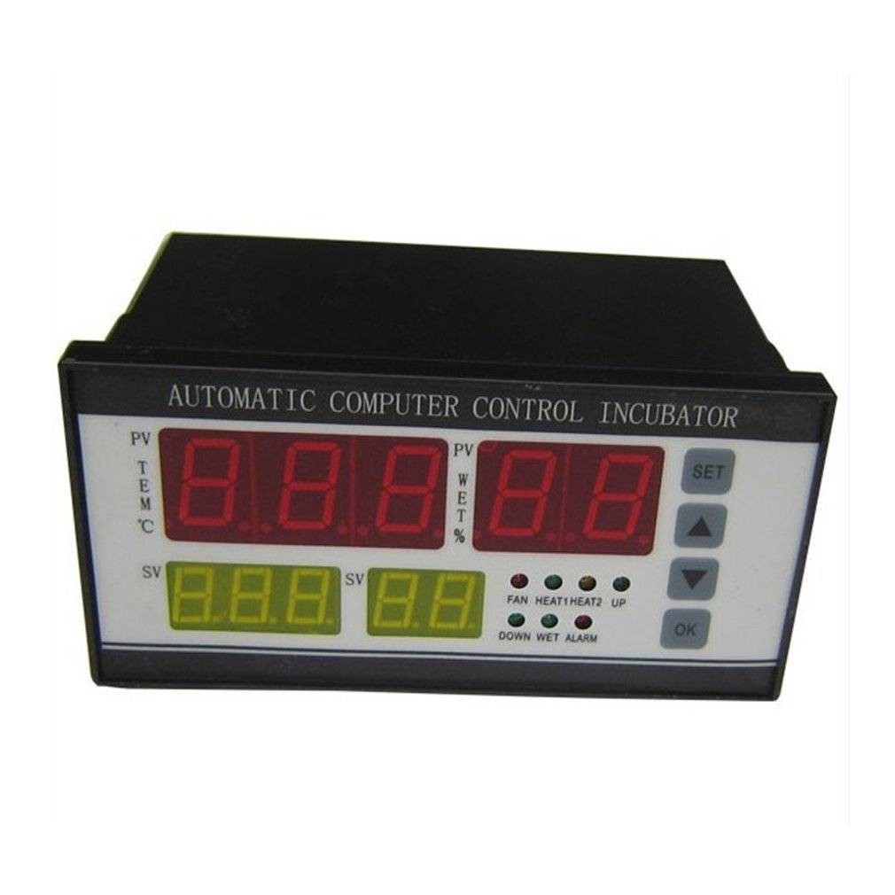 Xm-18 Egg Incubator Controller Thermostat Full Automatic Control With Temperature Humidity Sensor Probe