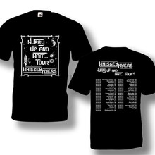 Whiskey Myers Hurry Up & Wait Tour 2018 Tshirt Black Color Best Design S-3XL(China)