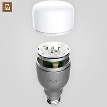Yeelight bombilla LED inteligente, 220V, E27, 9W, 600 lúmenes, aplicación WIFI, Control remoto, RGBW, Color