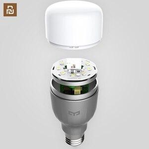 Image 1 - Yeelight 電球 led スマート電球 220 12v E27 9 ワット 600 ルーメンアプリ無線 lan リモートコントロール rgbw ランプ電球カラー版