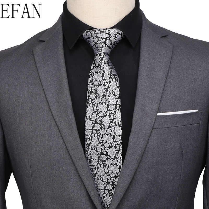 7cm moda kravatlar klasik erkek şerit gri yeşil kırmızı düğün bağları jakarlı dokuma % 100% İpek erkek Polka noktaları boyun bağları C241-280