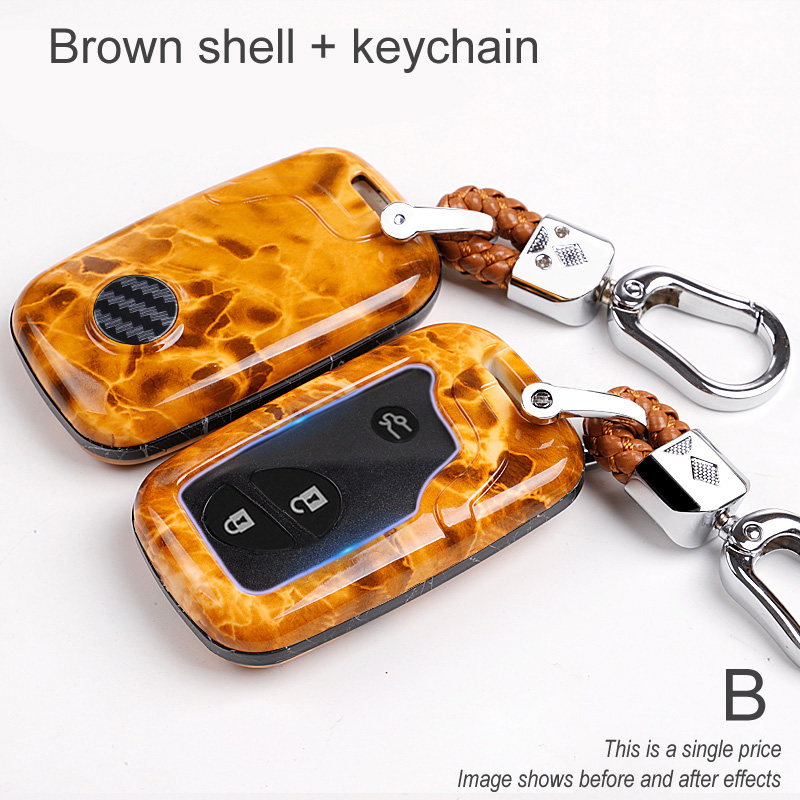 Car key case for lexus rx 300 330 350 400h is 250 200 lx 470 570 gx 460 470 nx ct 200h es 350 gs 300 ls 430 holder shell cover image